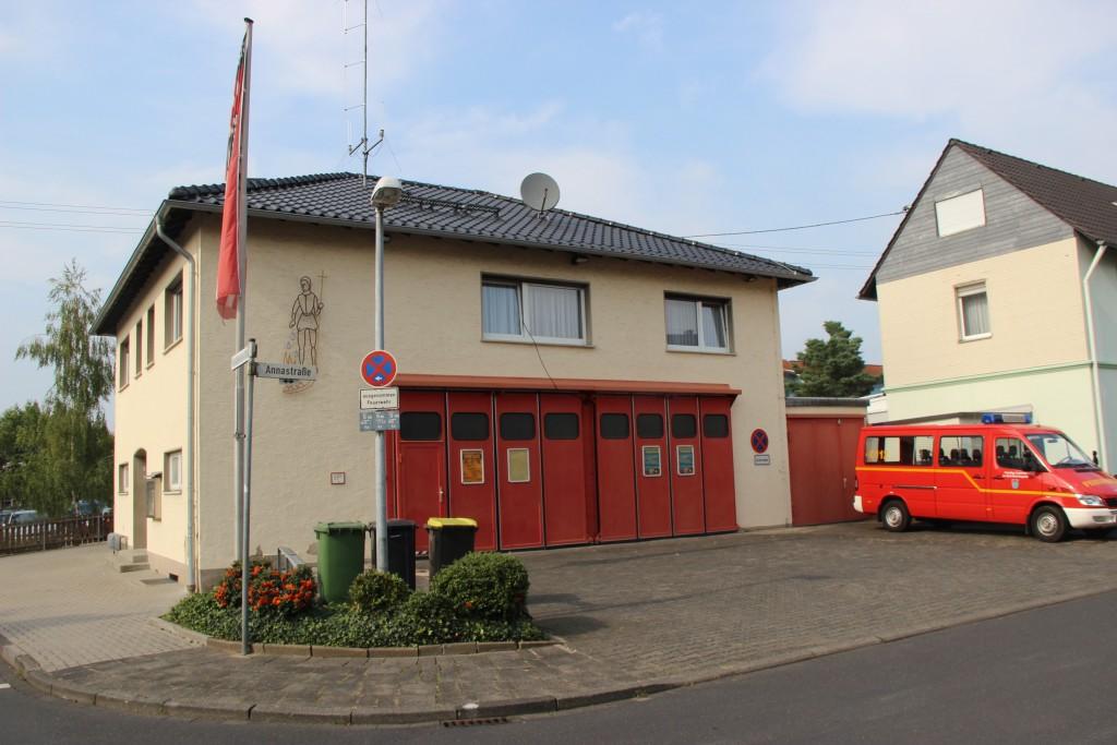 Fernmeldebetriebsstelle im Feuerwehrhaus Hangelar